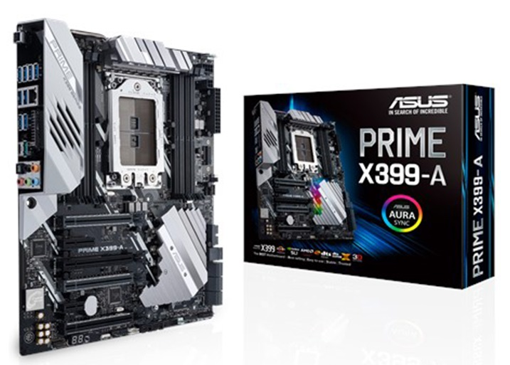 Main Asus X399-A (Chipset AMD X399/ Socket TR4/ None VGA)