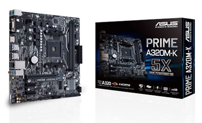 Main Asus PRIME A320M-K (Chipset AMD A320/ Socket AM4/ VGA onboard)