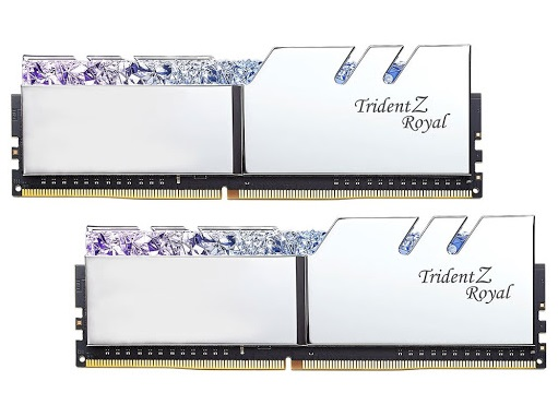 RAM KIT GSKill 16Gb (2x8Gb) DDR4-3200- Trident Z Royal (F4-3200C16D-16GTRS) Tản LED RGB