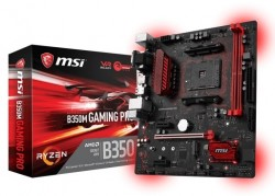 Main MSI B350M GAMING PRO (Chipset AMD B350/ Socket AM4/ VGA onboard)