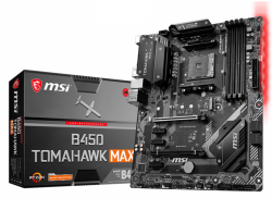 Main MSI B450 TOMAHAWK MAX (Chipset AMD B450/ Socket AM4/ VGA onboard)