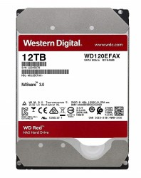 Ổ cứng Western Red 12Tb 3.5Inch 5400rpm SATA3 256Mb (WD120EFAX)