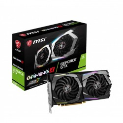 Card màn hình MSI GTX 1660 Ti GAMING X (6GB GDDR6, 192-bit, HDMI+DP, 1x8-pin)