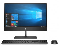 "Máy tính All in one Hp ProOne 600G5 AIO/ i5-9500T-2.2G/ 4G/ 256G SSD/ WL+BT/ DVDRW/ 21.5""FHD-Touch/ Black/ W10 (8GB58PA)"
