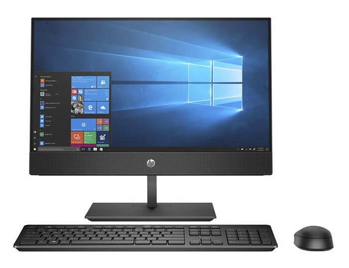 "Máy tính All in one Hp ProOne 600 G4 AIO/ i7-8700T-2.4G/ 8G/ 1TB/ DVDRW/ 21.5""FHD+Touch/ Black/ W10P (5AW50PA)"