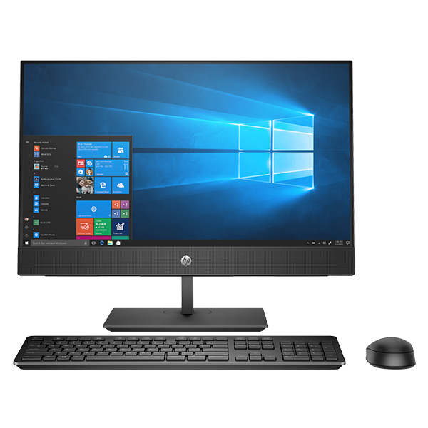 "Máy tính All in one Hp ProOne 400G5 AIO/ i5-9500T-2.2G/ 4G/ 1TB/ WL+BT/23.8"" FHD/ DVDRW/Black/W10 (8GA61PA)"
